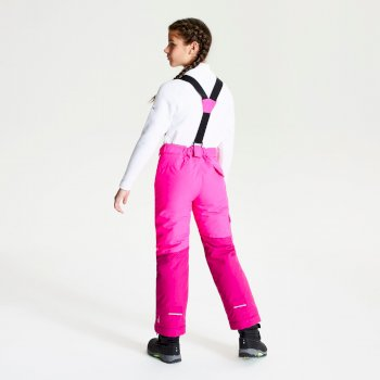 Salopette ski Junior TIMEOUT Rose