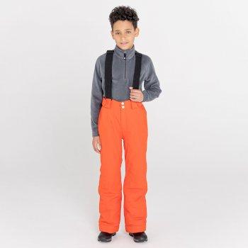 Kids' Motive Waterproof Insulated Ski Pants Amber Glow