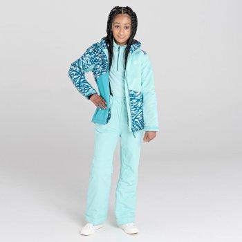 Kids' Motive Waterproof Insulated Ski Pants Aruba Blue