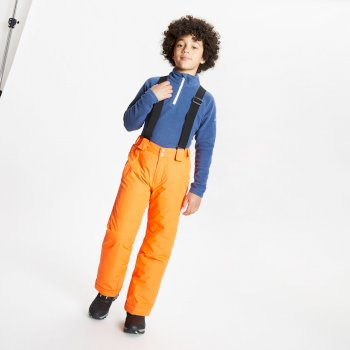 Kids' Motive Waterproof Insulated Ski Pants Blaze Orange