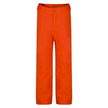 Kids' Delve Ski Pants Vibrant Orange