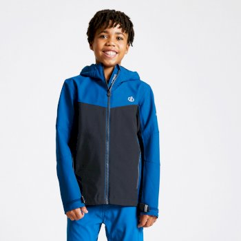 Kids' In The Lead Waterproof Jacket Athletic Outerspace Blue