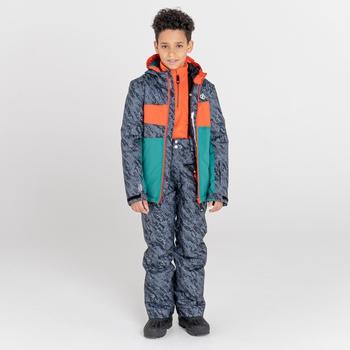 Salopette de ski Junior imperméable et isolante TIMEOUT II Noir