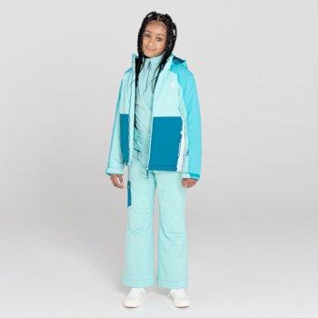 Salopette de ski Junior imperméable et isolante TIMEOUT II Bleu