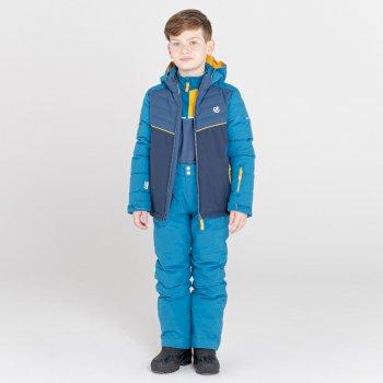 Salopette de ski Junior imperméable et isolante OUTMOVE II Bleu