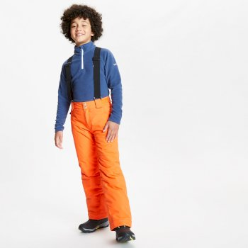 Salopette de ski Junior imperméable et isolante OUTMOVE II Orange