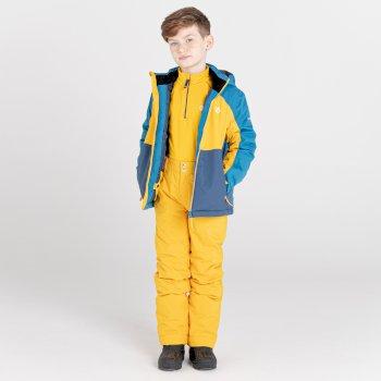 Salopette de ski Junior imperméable et isolante OUTMOVE II Jaune