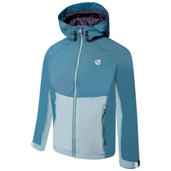 Kids' In The Lead II Hooded Waterproof Jacket  Dragonfly Green