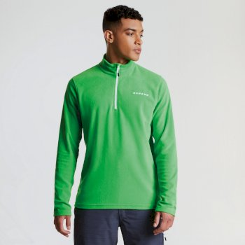 Men's Freeze Dry II Half Zip Fleece Fairway Green