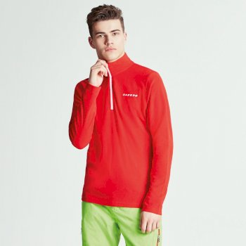 Men's Freeze Dry II Half Zip Fleece Code Red