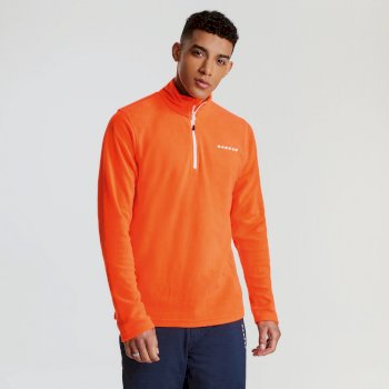 Men's Freeze Dry II Half Zip Fleece Vibrant Orange
