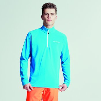 Men's Freeze Dry II Half Zip Fleece Methyl Blue