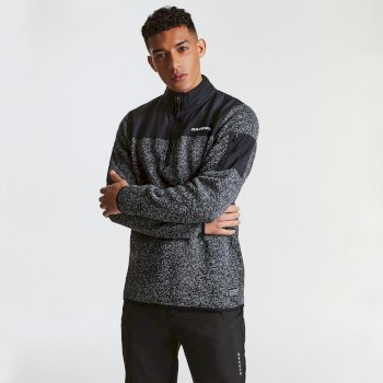 Sweat ALLIANCE Charcoal Grey Marl Black