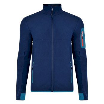 Men's Devoir Full Zip Fleece Clear Water