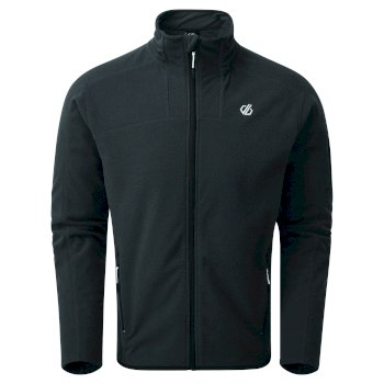 Men's Practice Full Zip Fleece Ebony Grey