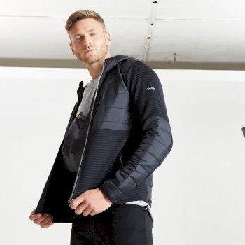 The Jenson Button Edit - Narrative Full Zip Hooded Fleece Black