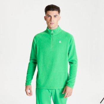 Men's Freethink II Half Zip Fleece Vivid Green