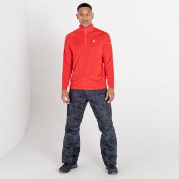 Men's Freethink II Half Zip Fleece Chinese Red