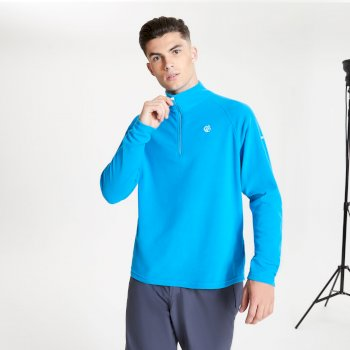 Men's Freethink II Half Zip Fleece Methyl Blue