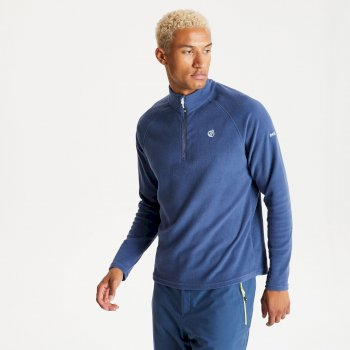 Men's Freethink II Half Zip Fleece Dark Denim