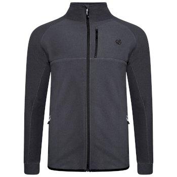 Men's Diluent Full Zip Fleece Ebony Grey
