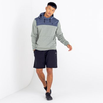 Men's Lounge Out Overhead Hoodie Agave Marl Nightfall Navy Marl