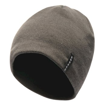 Men's Prompted Beanie Hat CharcoalGrey