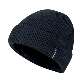 Men's Vocate Ribbed Beanie Hat Outer Space Blue
