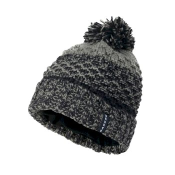 Men's Sonata Bobble Beanie Hat Outer Space Blue