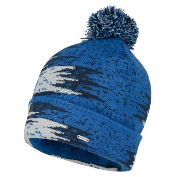 Men's Dauntless Bobble Hat Oxford Blue