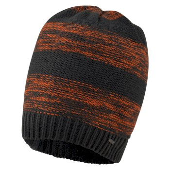 Men's Thesis Beanie Hat Ebony Clementine