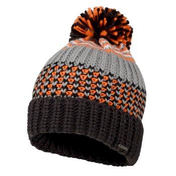 Bonnet design à pompon Homme HAVOC Gris