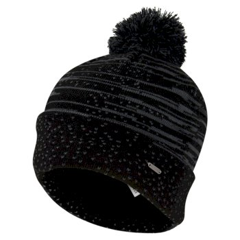 Men's Mind Over Bobble Hat Black