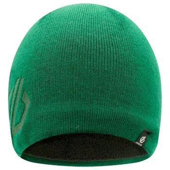 Men's Rethink Embroidered Beanie Hat Forest Green