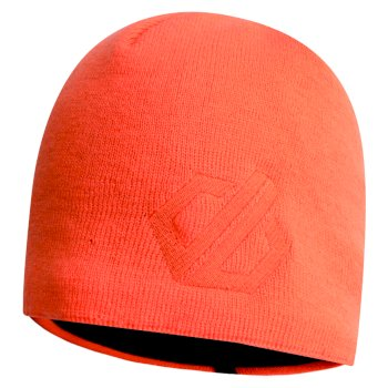 Men's Rethink Embroidered Beanie Hat Clementine
