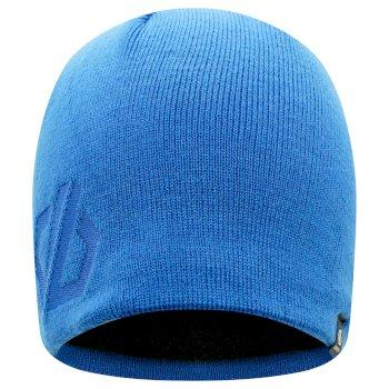 Men's Rethink Embroidered Beanie Hat Lapis Blue