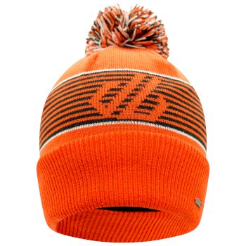 Men's Out Wit Fleece Lined Bobble Hat Amber Glow