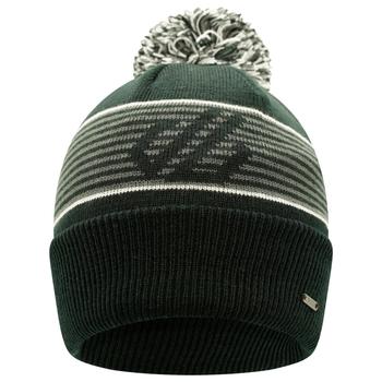 Men's Out Wit Fleece Lined Bobble Hat Black