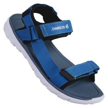 Men's Xiro Sandals Petrol Blue Jasmine Green