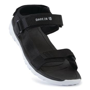 Men's Xiro Lightweight Sandals Black White