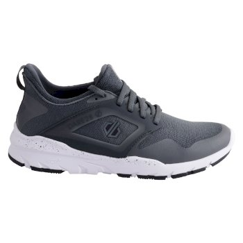 Men's Rebo Trainers Black White