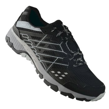 Men's Razor II Shock Absorbing Trail Shoes Black Gravity Grey