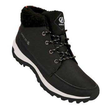 Men's Connix Lined Mid Boots Black Dragon Fire