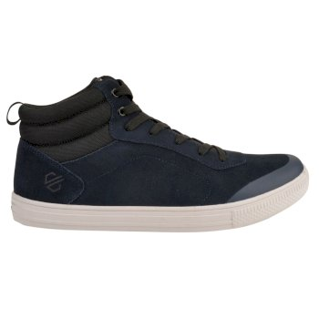 Men's Cylo High Top Trainers Navy Black
