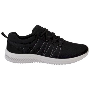 Men's Sprint Lightweight Trainers Black White
