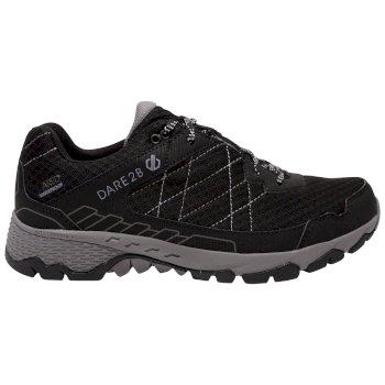 Men's Viper Walking Shoes Black Aluminium Grey