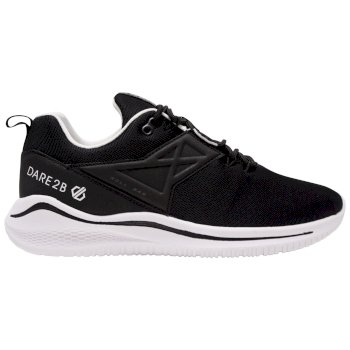 Men's Plyo Lightweight Trainers Black White
