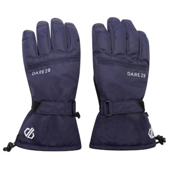 Men's Worthy Waterproof Insulated Ski Gloves Nightfall Navy