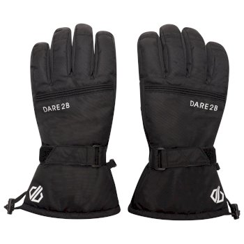 Men's Worthy Waterproof Insulated Ski Gloves Black