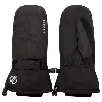 Men's Veracity Waterproof Insulated Ski Mitts Black